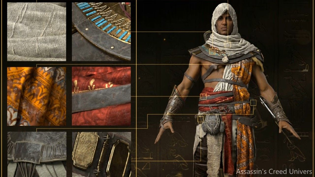 Assassin S Creed Origins Bayek S Outfit With Images Assassins