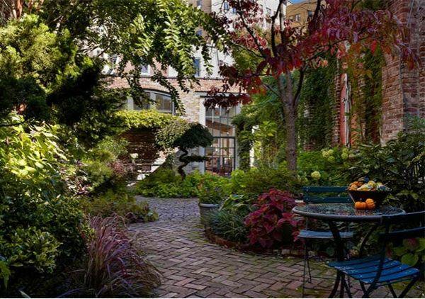 Garten Landschaftsbau mit Ziegeln – 15 tolle Gartengesteltung Ideen ...