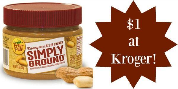 Kroger: Peter Pan Peanut Butter Only $1!