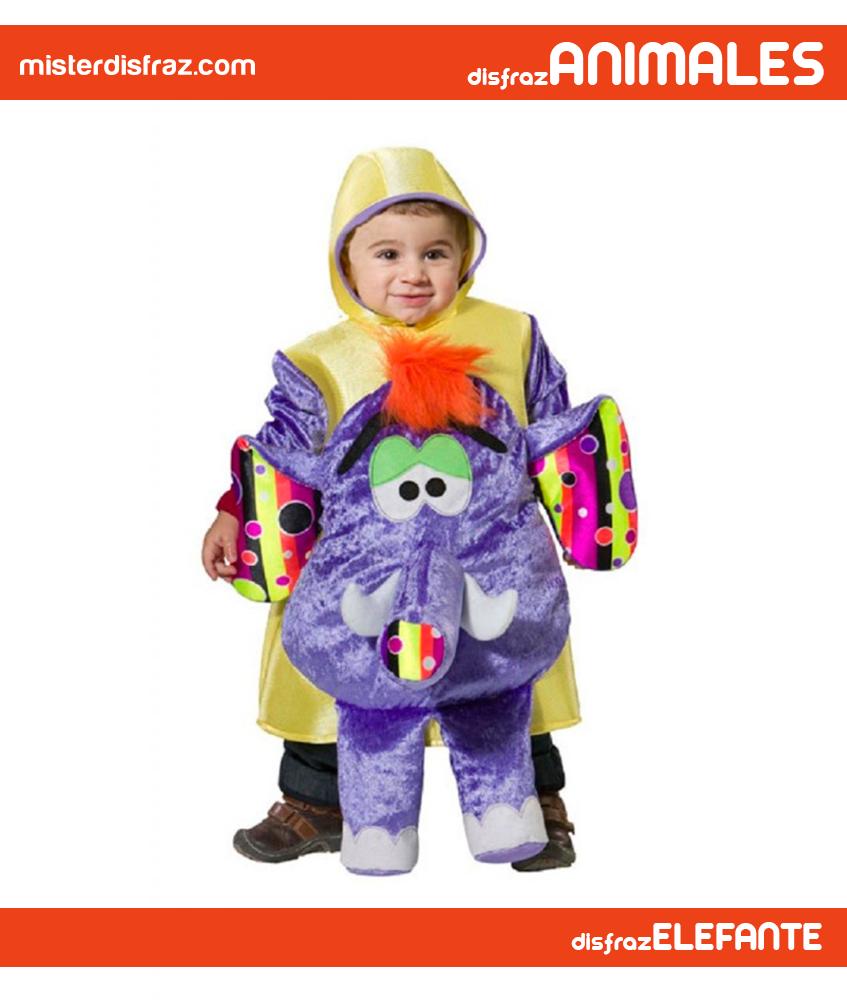 Disfraz de Elefante Trompa para Bebé. Con este disfraz convertirás a ...