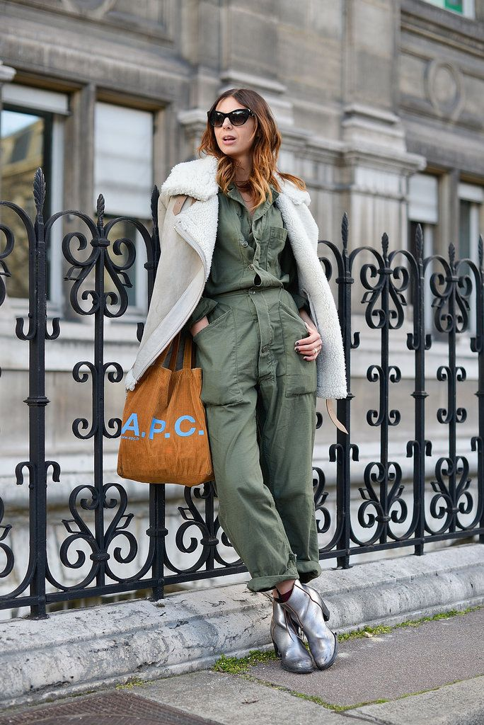 a795de18e48 The Best Street Style Snaps From Paris Fashion Week  Phew! We ve made it  through day two in Paris