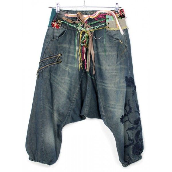 Pantalon Bombacho Vaquero De Desigual Semi Nuevo Por Tan Solo 20 Kotlar