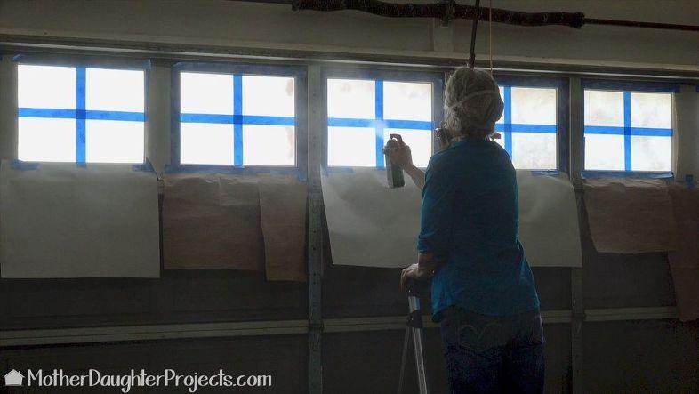 Faux Windows In Garage Door Garage Doors Faux Window Faux Garage Door Windows