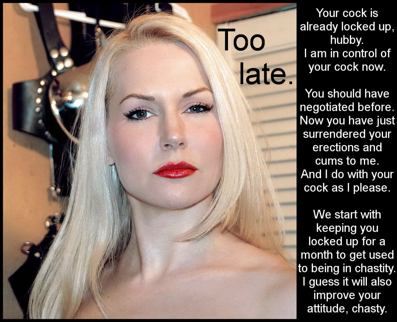 Chastity rules