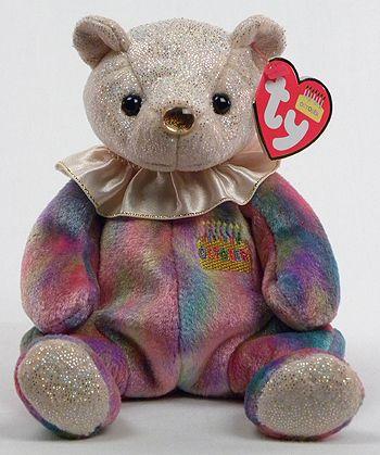 281b840b793 October (birthday) - bear - Ty Beanie Babies