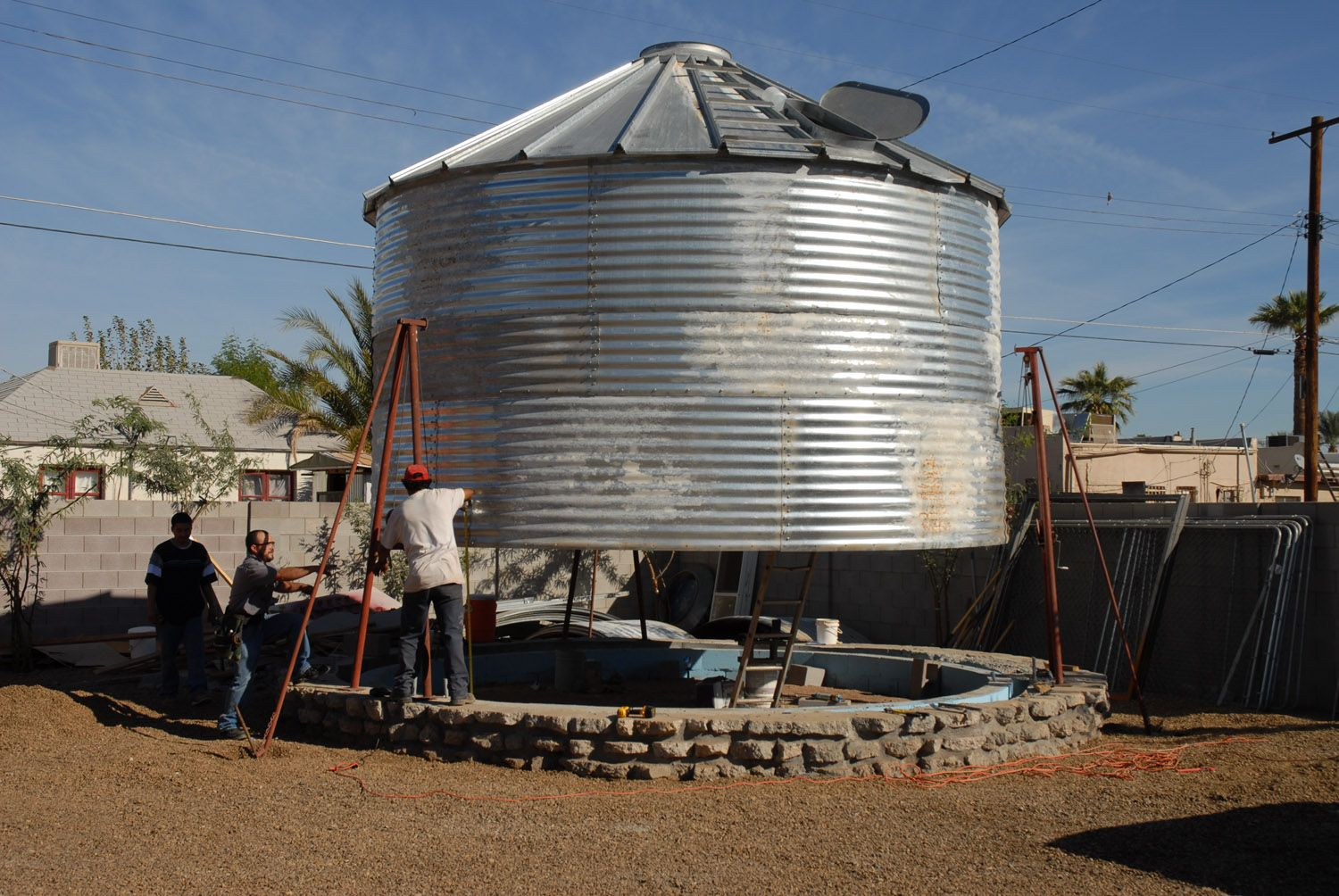 How this man transformed this old grain silo will leave