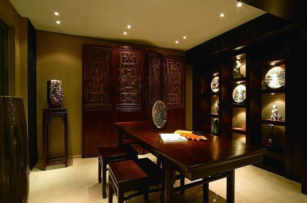 Oriental Chinese Interior Design Asian Inspired Study Room Home Decor Http Www