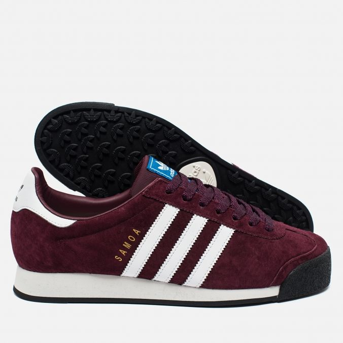 Кроссовки adidas Originals Samoa Vintage Vinous/White/Black AQ7904