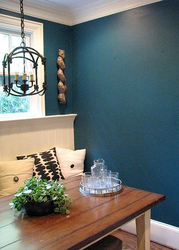 Benjamin Moore Beau Green For The Dining Room My