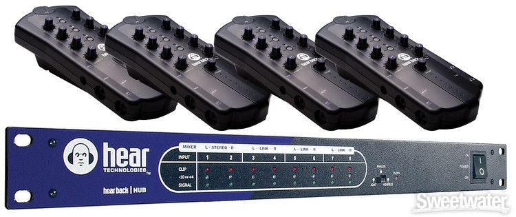 Hear Technologies Hear Back OCTO Four Pack Recording