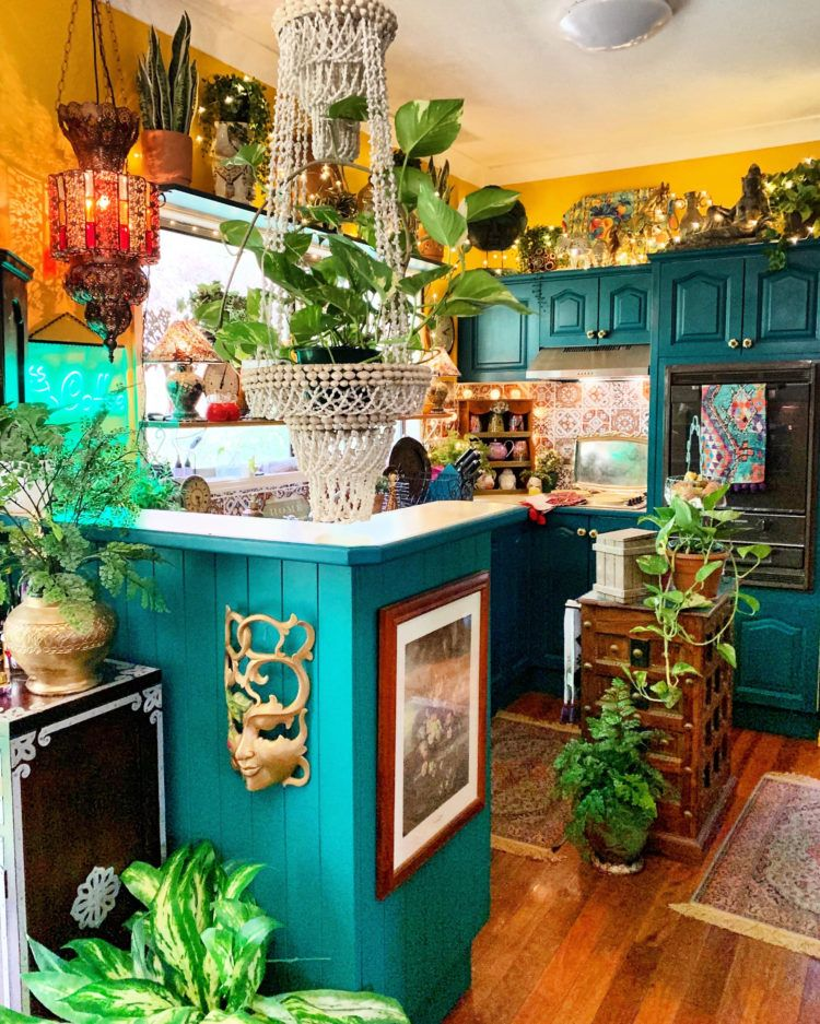 Home Tour: Stunning Maximalist and Boho Chic Home