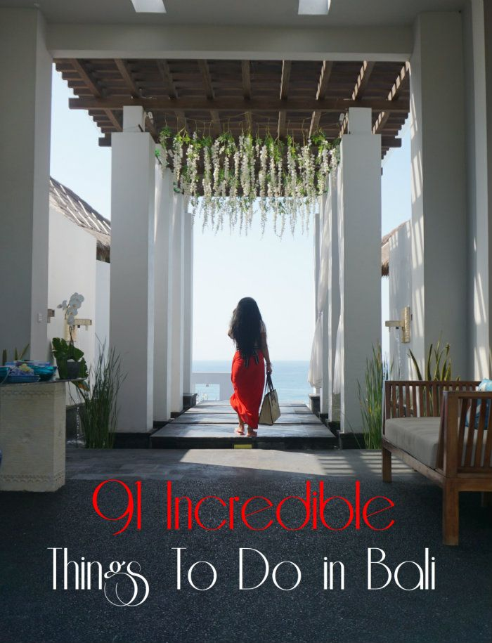 91 Things to do in Bali for every type of traveller. Let's get going with the complete list of things to do in Bali, Indonesia.