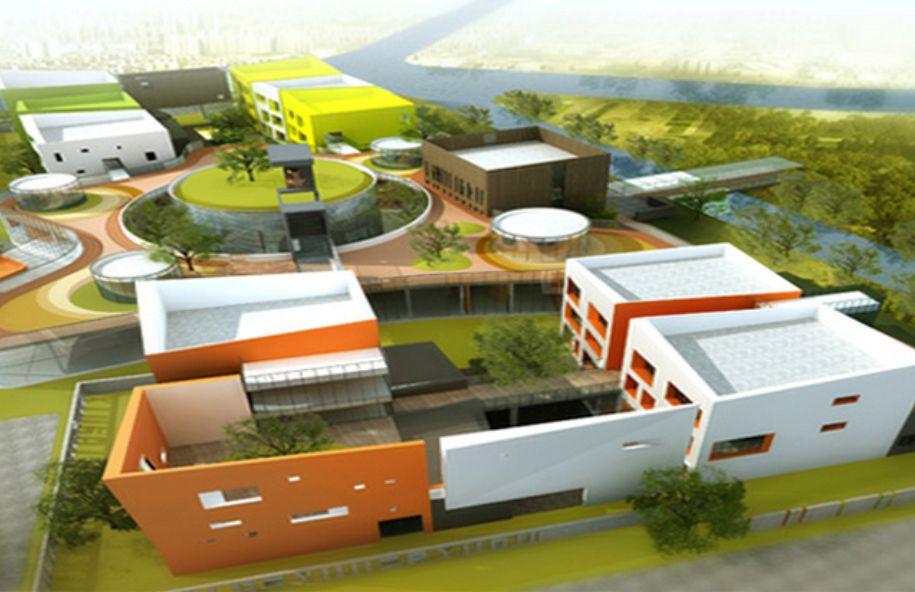 Overlooking Kindergarten Architecture Design