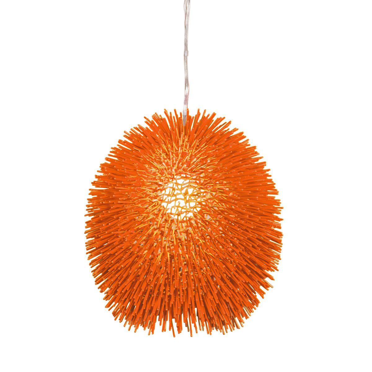 Orange urchin pendant light (by Fab.com)  sc 1 st  Pinterest & Orange urchin pendant light (by Fab.com) | ORANGE | Pinterest ... azcodes.com