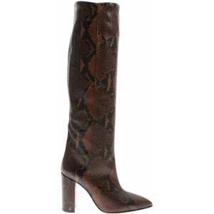 Brown Leather Boots – Brown – Paris Texas Boots