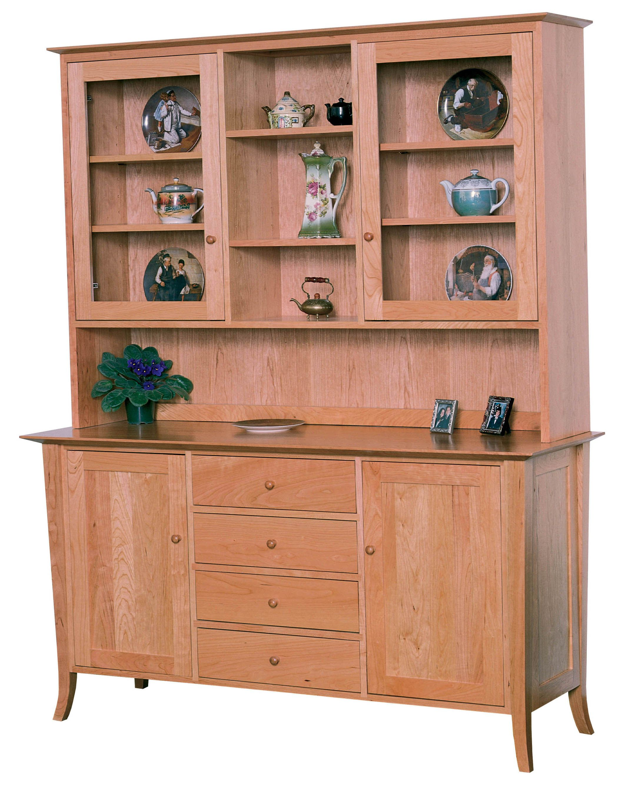 Classic Shaker Large Buffet Hutch Dining Room Hutch Pinterest Buffet Dining Room Hutch