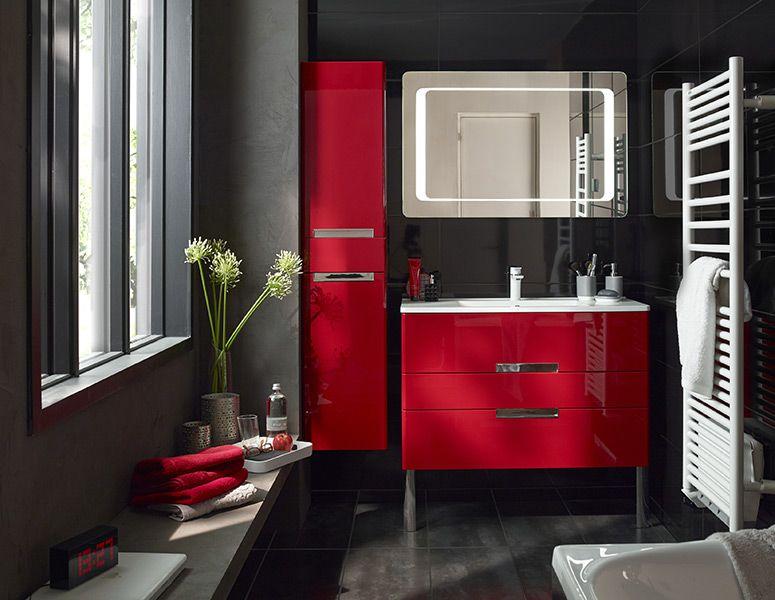 Collection Meubles De Salle De Bain Castorama Red Bathroom Decor Bathroom Red Bathroom Decor