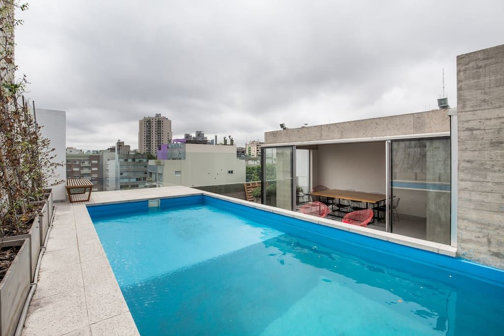 3 Rooms Pool & A/C in Palermo Hollywood Departamentos en