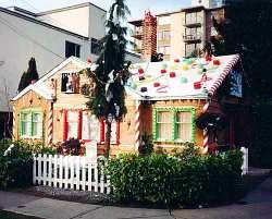 Is it real or gingerbread we wondered the same thing but for Gingerbread house outdoor decorations