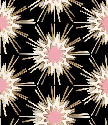 Art Deco Pink Design