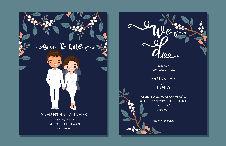 Cute Digital Wedding Save The Date Invitation Card Template E Invite Printable Invitation Personalize Template Wdc001248 Wedding Invitation Cards Funny Wedding Invitations Digital Invitations Wedding