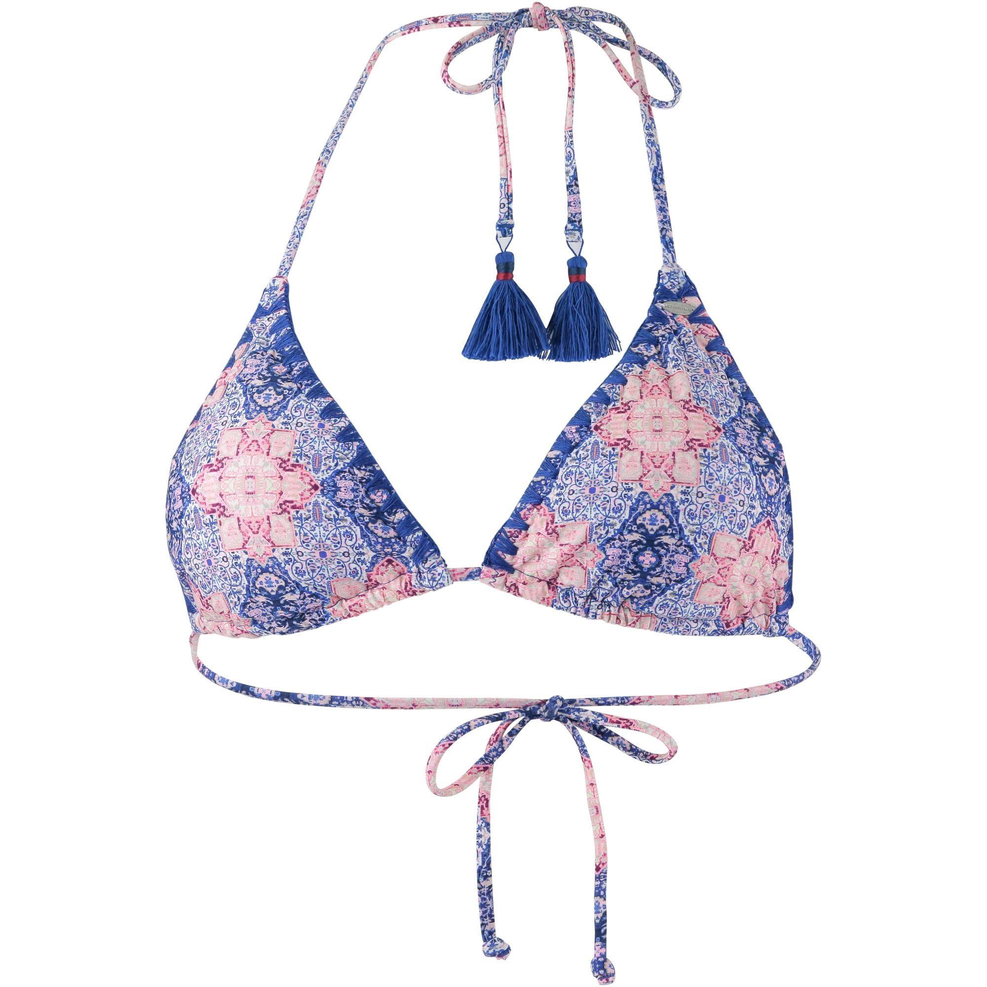 822c1c501840 O NEILL Crochette Bikini Oberteil Damen white aop-blue im Online Shop von  SportScheck