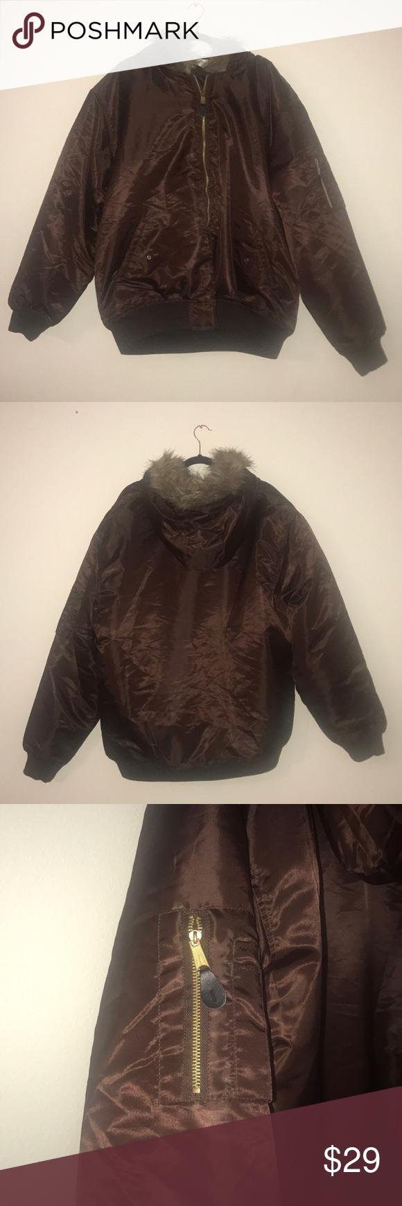 Men's puffer jacket Fur hood jacket, Puffer jackets