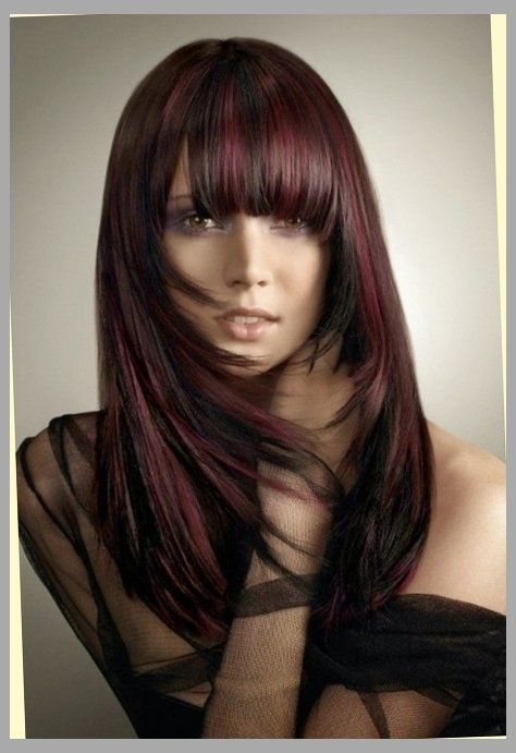 hair highlights style different highlight styles for hair hairs picture 7591