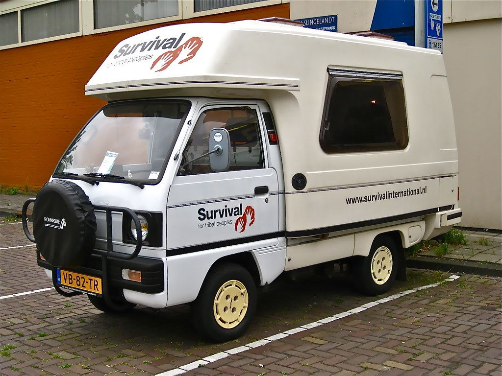 Suzuki internasional Suzuki Carry Van Camper in 2020
