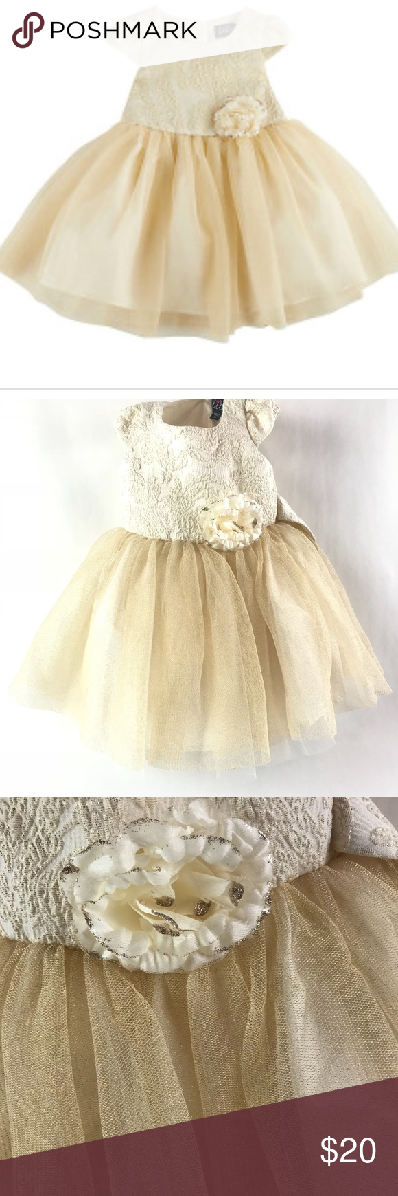 Lilt Gold And Off White 2t Dress Lilt Gold And Off White 2t Dress Measurements Chest 21 Length 17 Beautiful Dress Dresses 2t Dress Dress Measurements [ 1740 x 580 Pixel ]