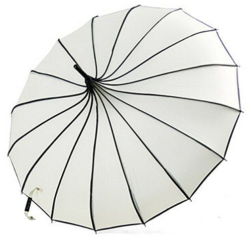 Black Vivi Sky Pagoda Peak Old-Fashionable Ingenuity Umbrella Parasol