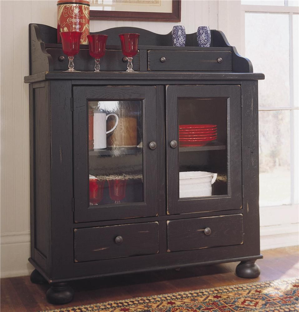 The Stylish Dining Room Chest Features Two Antique Straw Glass Doors Four Drawers And One Adjustable Shelf Ins Broyhill Furniture Heirloom Furniture Broyhill