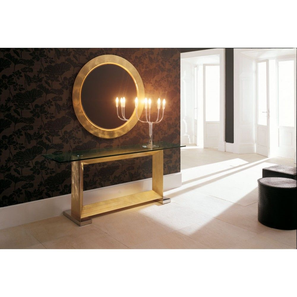 Monaco Is A High End Italian Designer Console With Base In Canaletto  Walnut, Burned Oak, White Carrara Marble Or Stainless Steel. The Italian  Furniture ...