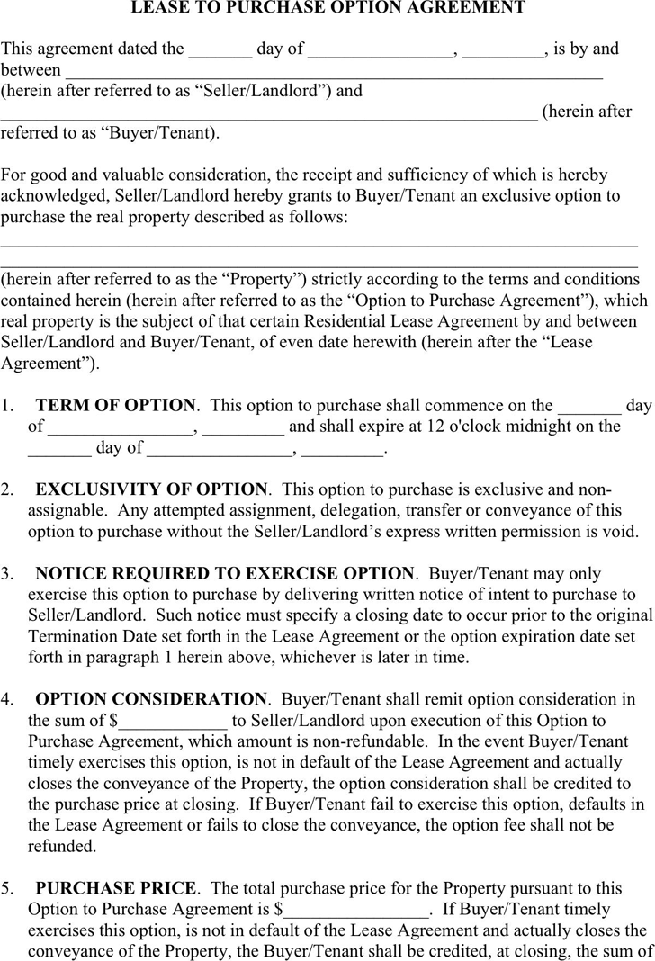 Lease Purchase Agreement Download Free Printable Rental Legal Form Template Or Waiver In Different Editabl In 2020 Purchase Agreement Lease Agreement Being A Landlord