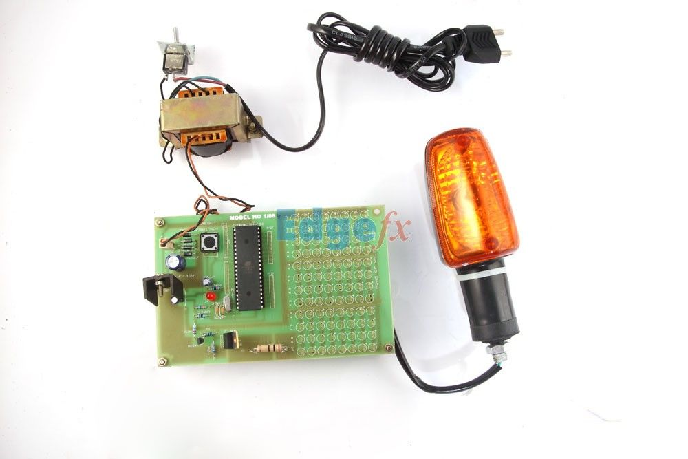 beacon flasher using microcontroller this project is designed tobeacon flasher using microcontroller this project is designed to provide flashing lamp simulating a beacon light generally used in shipyards,
