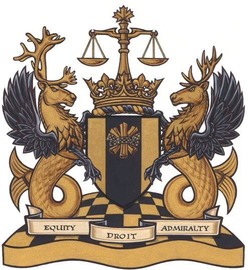 Federal Court of Canada's #CoatofArms | #heraldry