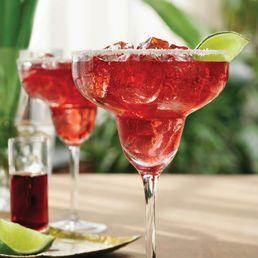 Chambord Raspberry Margarita