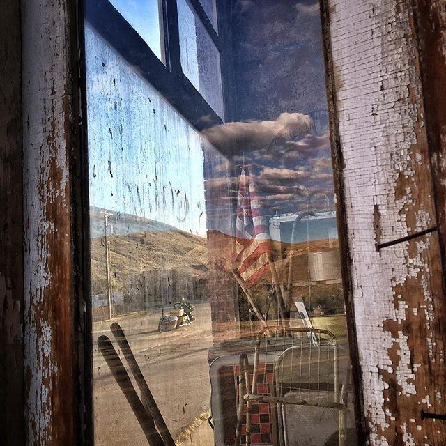 Main Street Hwy 308. Bear Creek Montana. by dguttenfelder