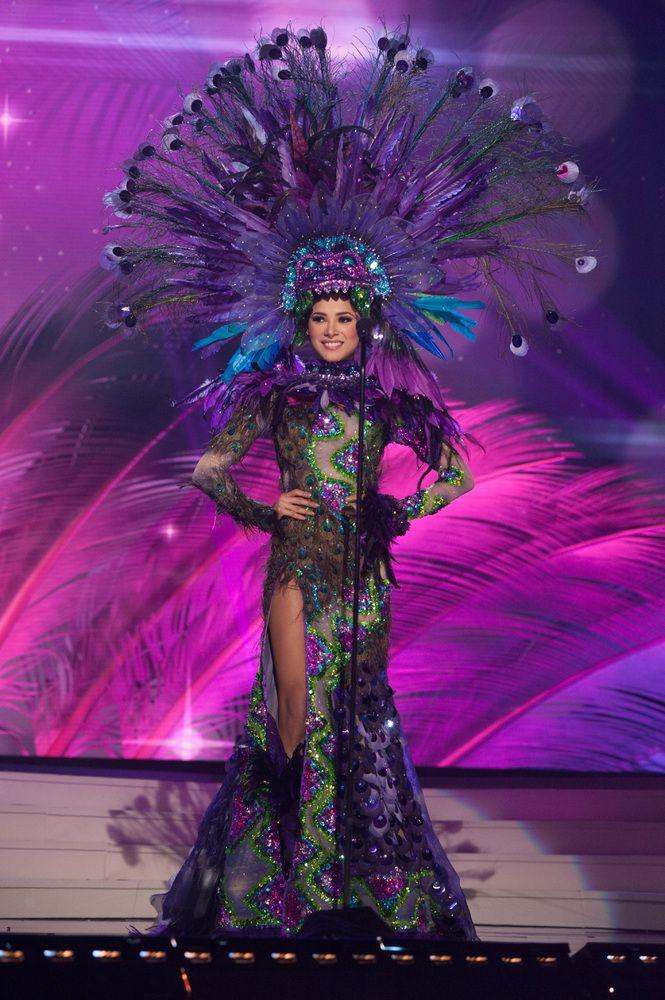 Los locos trajes típicos de las candidatas a Miss Universo | Traje ...