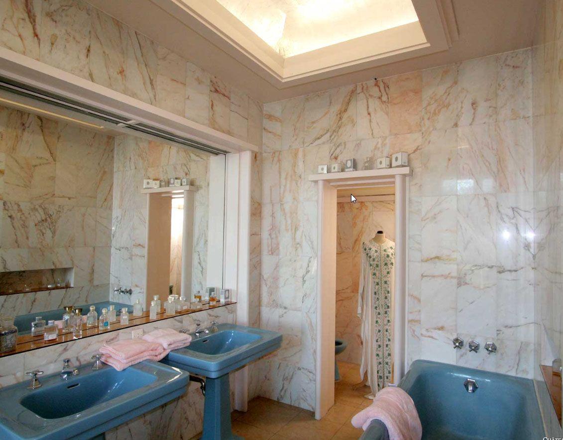 één van de badkamers