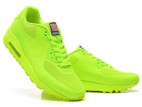 aecbfd876831 Nike Air Max 90 Hyperfuse QS Womens All Lemon Green More
