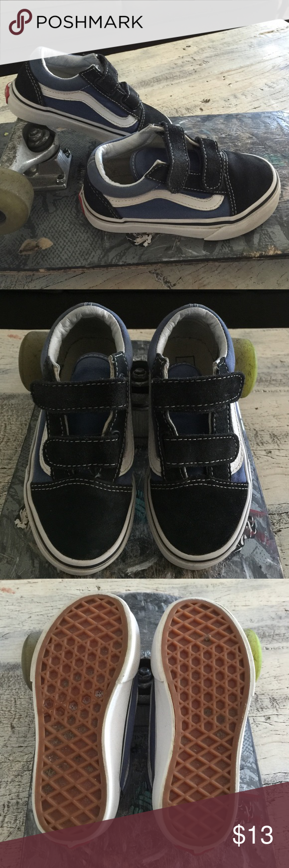 Old Skool Velcro Shoe Youth