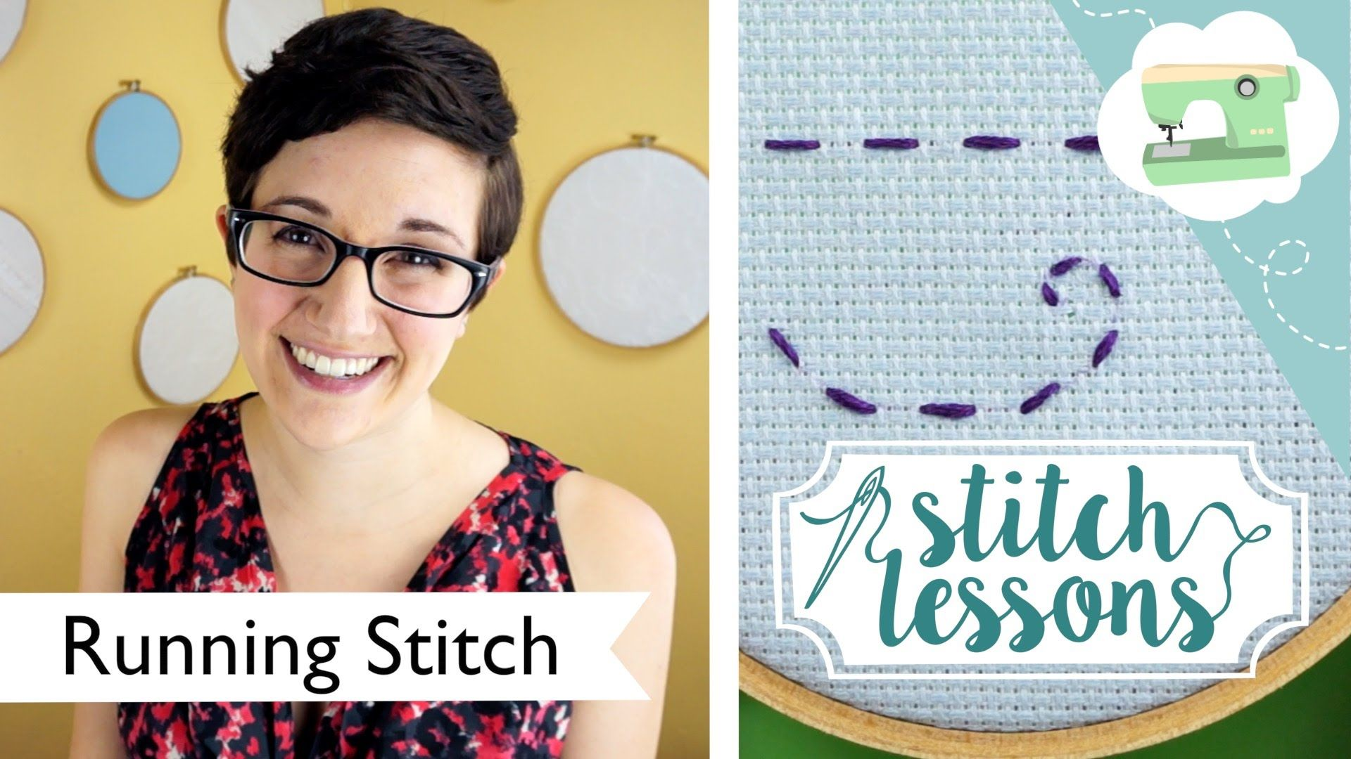 Sewing Running Stitch Stitch Lessons