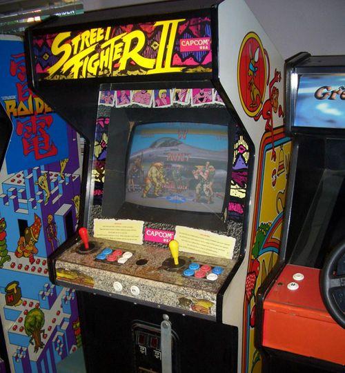 Super Street Fighter Ii Arcade Machine 1993 Capcom Arcade