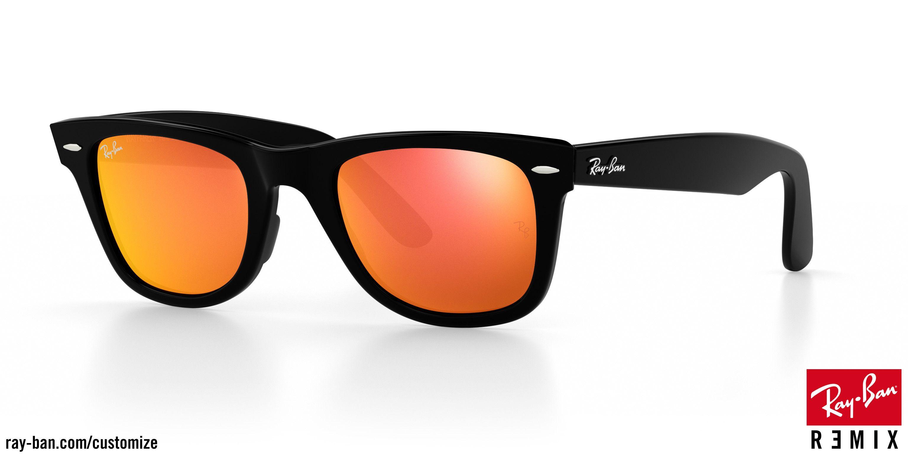 22d09dee0015d7 Personnalisez et achetez vos lunettes de soleil Ray-Ban Original Wayfarer  sur Ray-Ban® France. Livraison gratuite pour toutes les commandes.