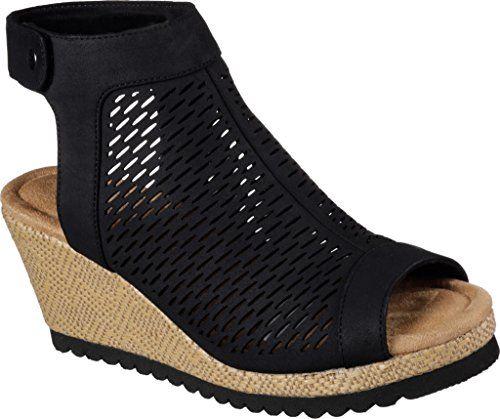 Women/'s Skechers Troos BRONS 40923//PEW Pewter Sandals Brand New