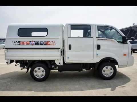 Kia Bongo Double Cab Topper Box Kia Mini Trucks Bongo