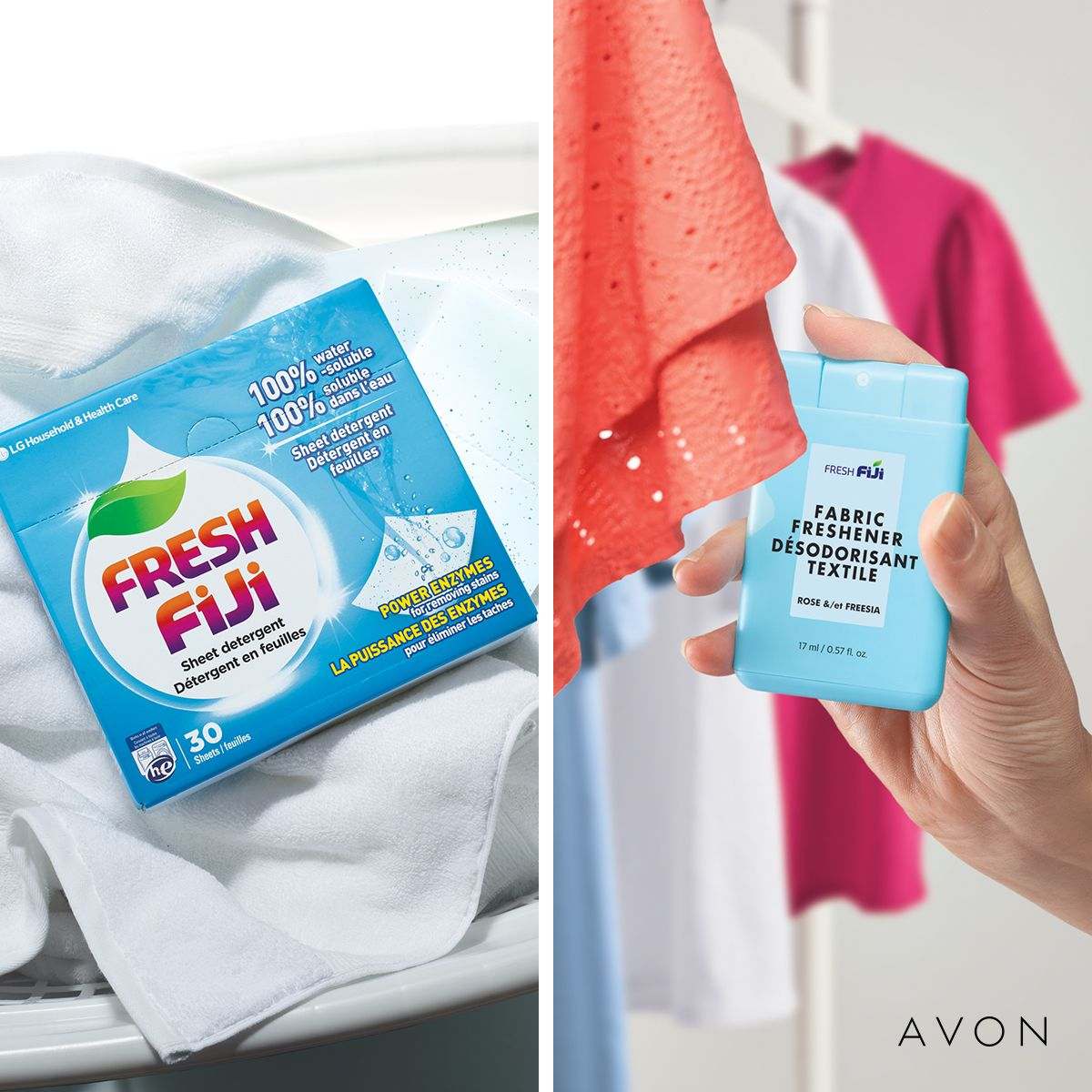 Check out our new Laundry Detergent in a single sheet, and our new fresh…