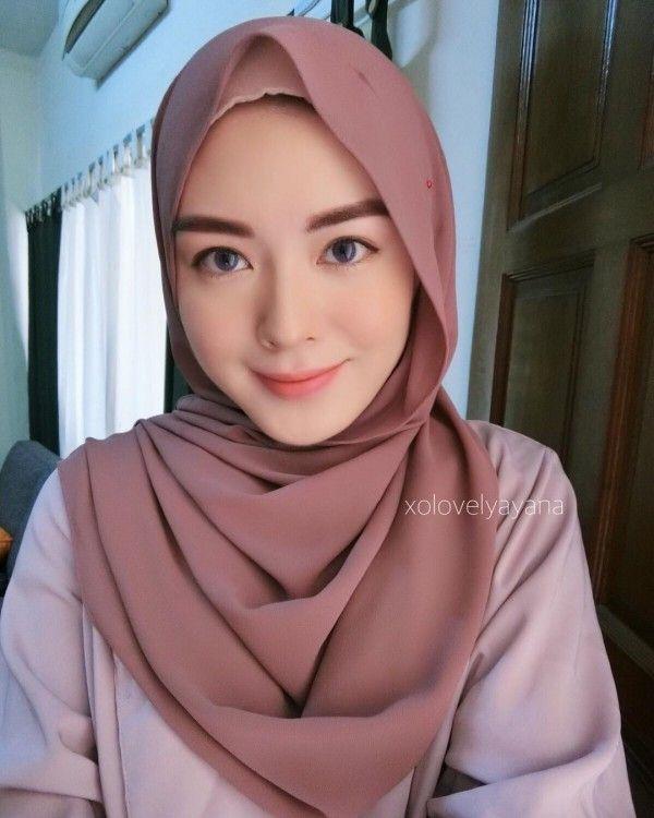 Ayana Moon Gaya Hijab Jilbab Cantik Kecantikan