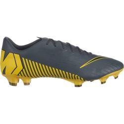 Nike Herren Fußballschuhe Rasen Vapor 12 Pro (fg), Größe 40 In Dark Grey/black-Dark Grey, Größe 40 I #darkstyle